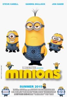 2015 minions stuart kevin bob movie poster illumination presents - minions poster minions wallpaper-f65785
